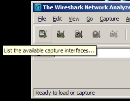 Wireshark - Interfaces