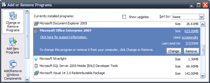 Groove menu without removing the groove application itself this forum