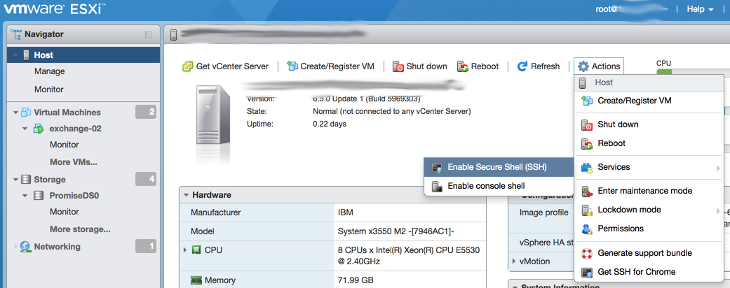 Manage your MR10i or other LSI MegaRAID controller on a ESXi 6 5
